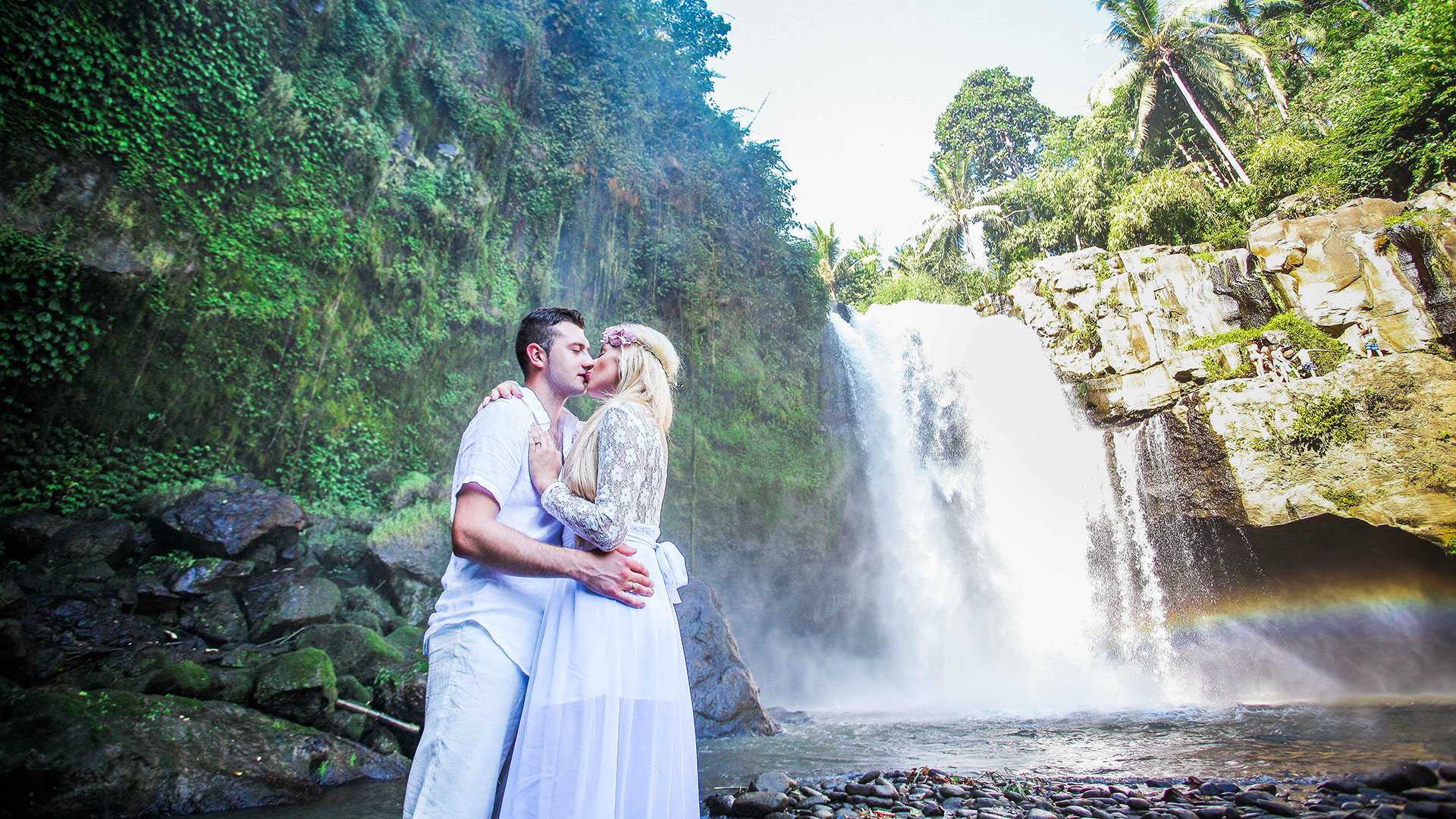 Jeff and Elena is a newly married couple from Spain who are doing tour to several countries including Indonesia to celebrate...